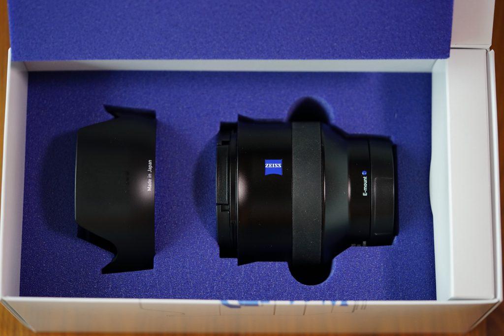 卡尔蔡司Batis2/25镜头的包装